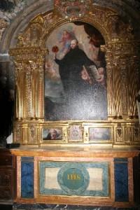 Santo Inácio de Loyola. Capela do Hospital Antezana, Alcalá de Henares, Espanha