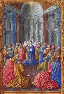 409px-Folio_79r_-_Pentecostes