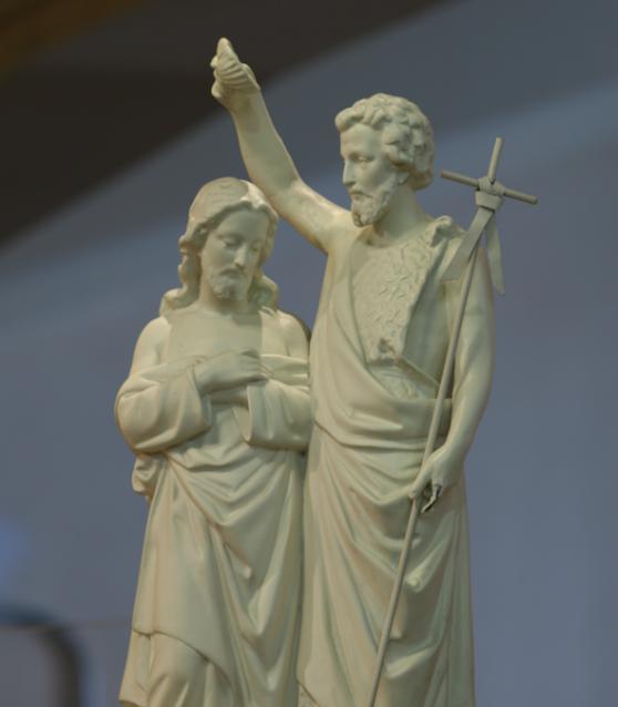 Por que Nosso Senhor foi batizado por São João Batista?