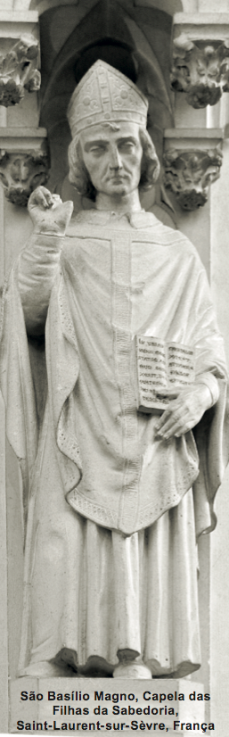 São Basílio Magno, o maior defensor da divindade do Espírito Santo