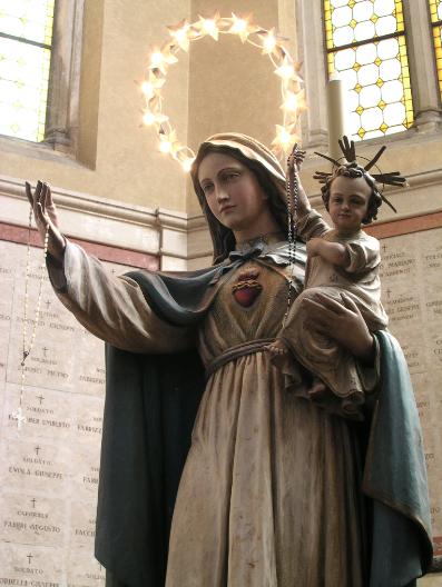 As quinze promessas de Maria Santíssima aos devotos do seu Rosário
