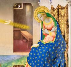 A Trindade e Maria