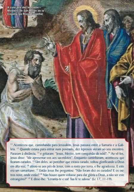 Comentário ao evangelho do 28o Domingo do Tempo Comum