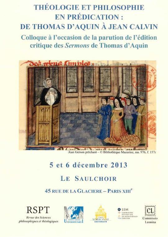 Edição crítica dos sermões de São Tomás