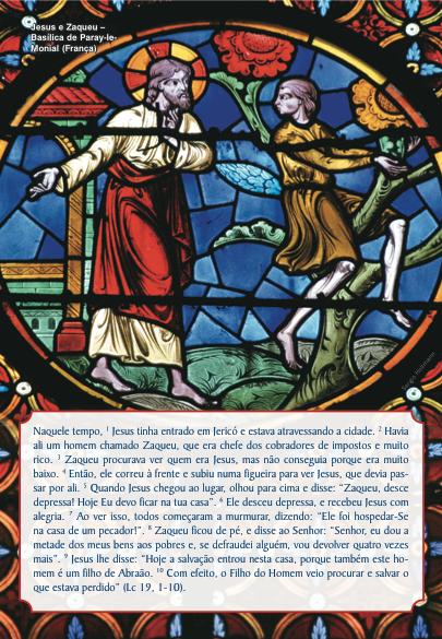 Comentário ao Evangelho do 31o domingo do Tempo Comum
