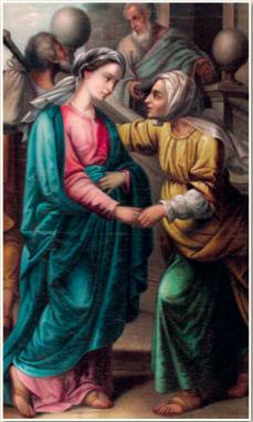 A santificação de São João Batista por meio da Santíssima Virgem