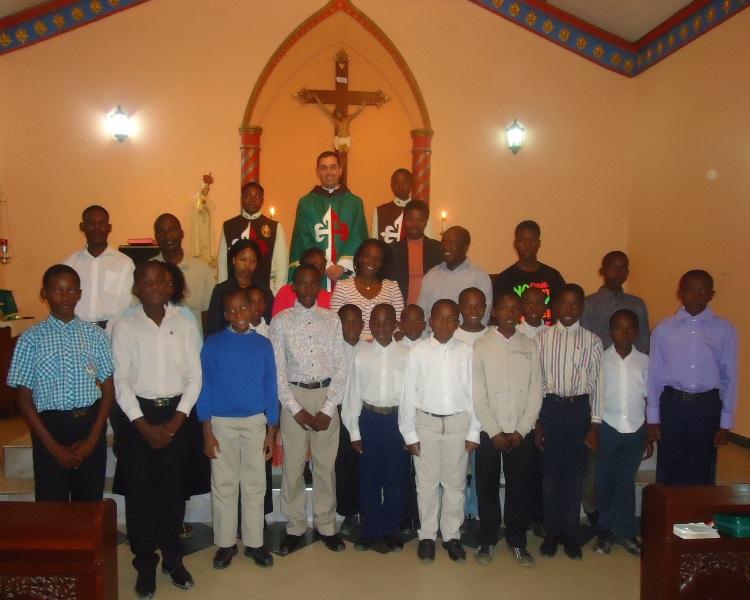 Capela dos Arautos do Evangelho em Maputo