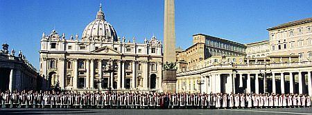 Aprovaçao - arautos em Roma