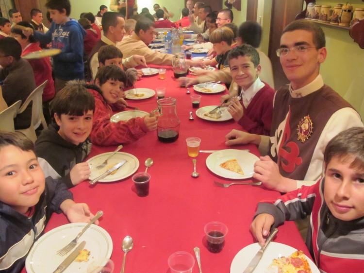 Jantar em Curitiba