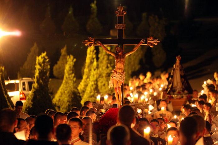 A Semana Santa e seus mistérios