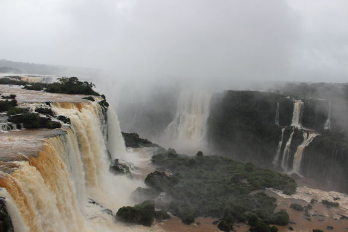 Vista das Cataratas do Iguaçu