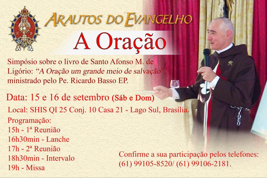 Convite: Simpósio sobre a Oração