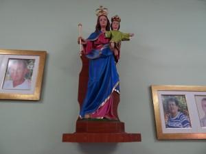 Inauguração da Imagem Nossa Senhora Auxiliadora