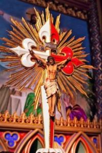 Cruz Processional da Basílica Nossa Senhora do Rosário