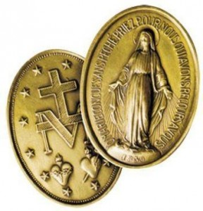 Nossa Senhora e sua medalha
