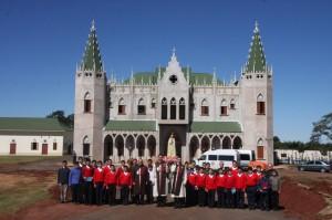 Arautos do Paraguai visitam Campo Grande