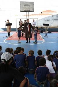 Projeto Futuro e Vida na Escola Benfica
