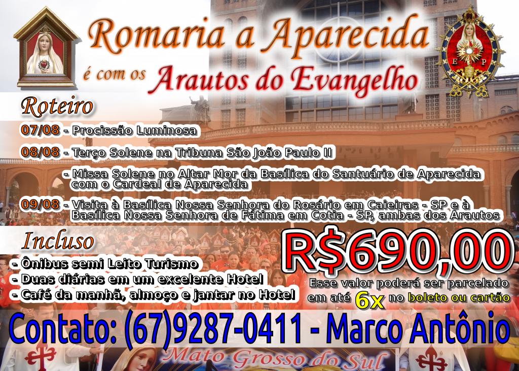 VII Romaria Nacional do Apostolado do Oratório
