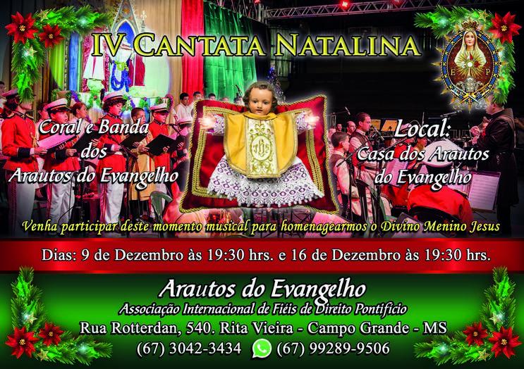 Convite – Cantata de Natal 2017