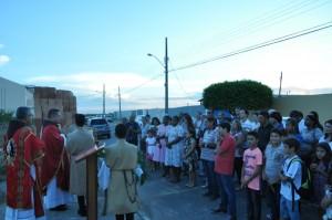 Domingo de Ramos comemorado em Campos