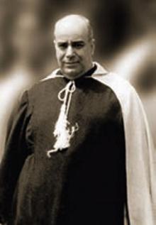 Dr. Plinio com o Hábito carmelita como Mons João o viu