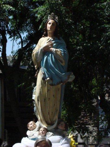 Celebración de la Inmaculada Concepción en Santiago