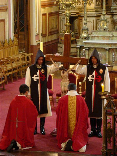 Liturgia de Viernes Santo en Santiago