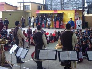 Visitas a Colegios: Santa Teresa de los Andes y Saint Dominic