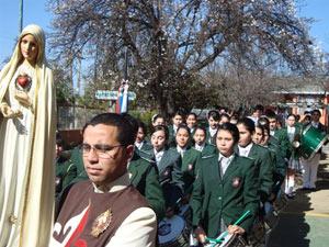 Visita al Colegio Católico TAE – Quilpué