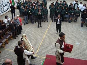 El Liceo Obispo Antonio Castro recibe a la Imagen Peregrina