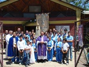 En la Diócesis de San Bernardo se visita la localidad Lo Herrera