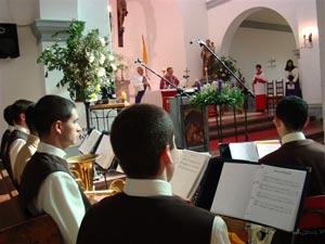 Visita a la Parroquia San Gerardo