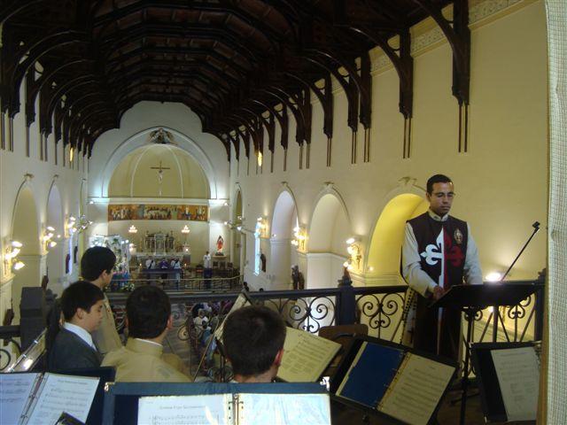 1º Domingo de Adviento en  Parroquia de Santa Bárbara en Casablanca
