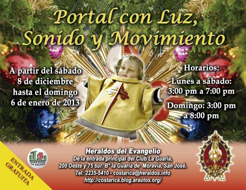Visite el Portal con Luz, Sonido y Movimiento