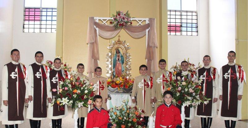 Heraldos visitan Guadalupe de Cartago