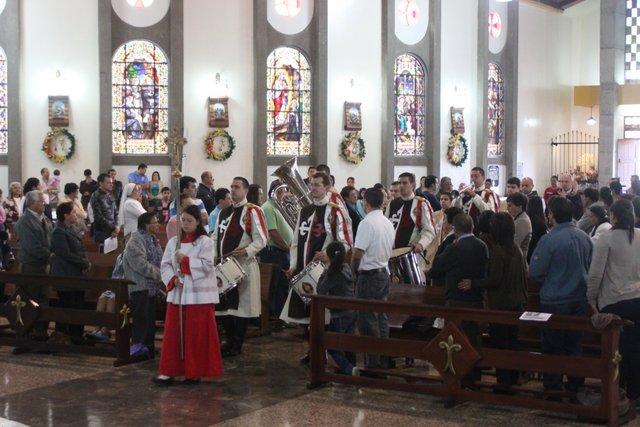 Misa en Tejar del Guarco, Cartago
