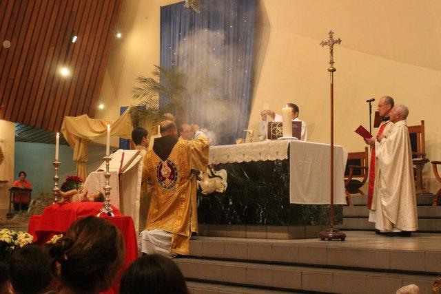 Misa de Gallo en el Santuario Nacional del Sagrado Corazón de Jesús