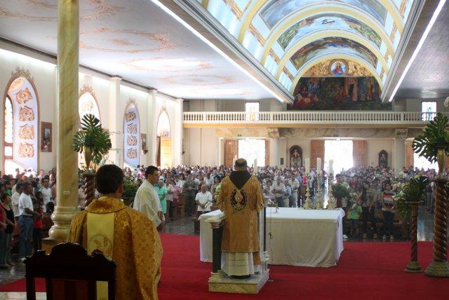 Solemnidad de la Sagrada Familia en la Catedral de Alajuela