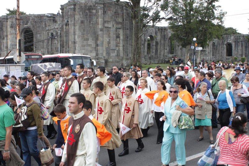 Peregrinación de la Arquidiocesis de San José a la patrona, La Virgen de los Ángeles