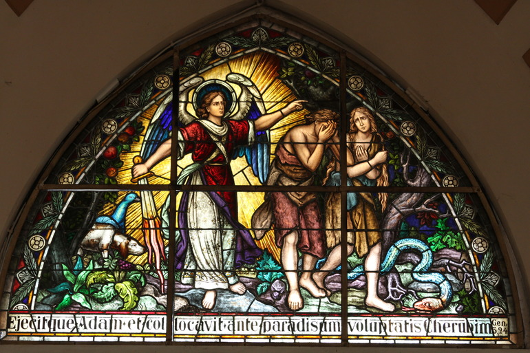 """Bickerstaff recordó que Adán y Eva perdieron por el pecado el don de la integridad. """"¿Alguna vez ha sentido que usted simplemente no puede hacer lo que quiere, o conocer lo que debería hacer, y en su lugar resulta haciendo lo que no quiere hacer?"""""""