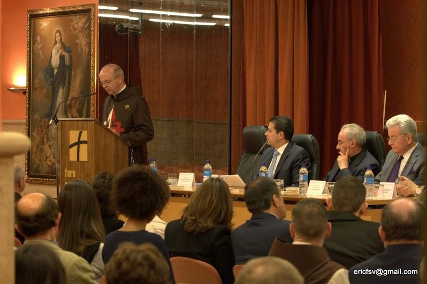 Presentado en Madrid libro del Embajador de Costa Rica ante la Santa Sede sobre S. Pío de Pietrelcina