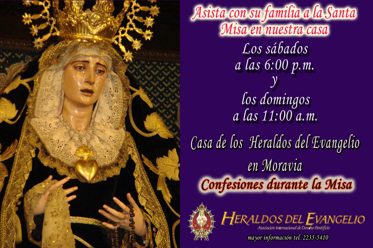 Invitación para la Santa Misa