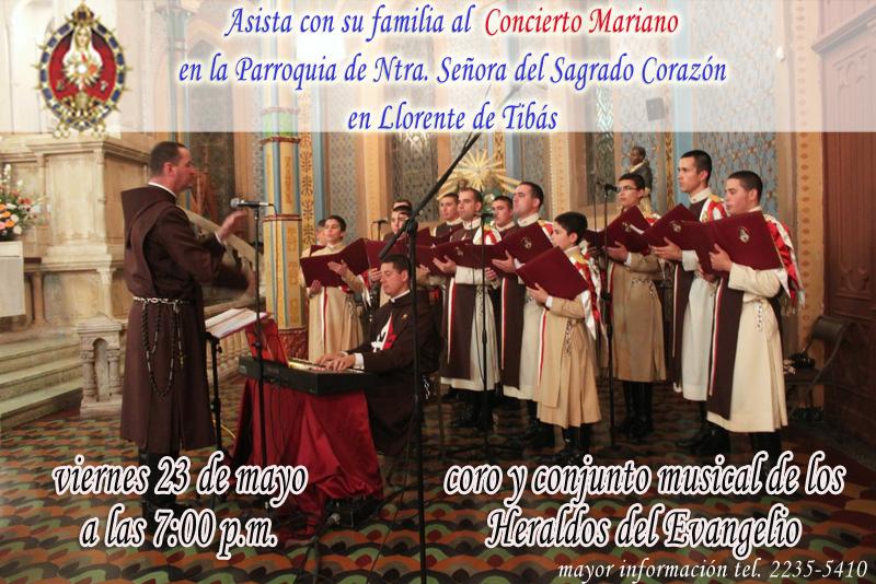 Agenda: Concierto Mariano en Llorente de Tibás