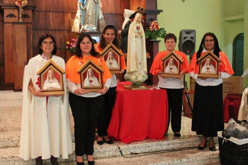 Entrega de nuevos Oratorios en Cubujuquí