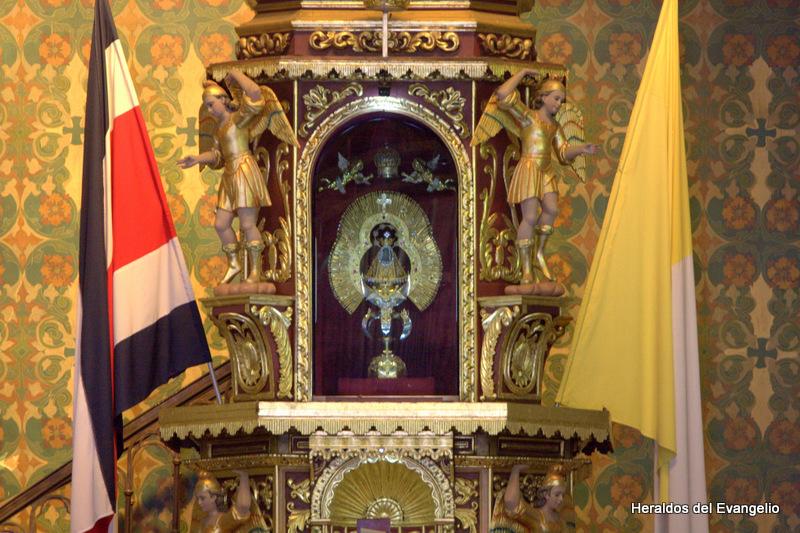 Historia de la aparición de la Virgen de los Ángeles