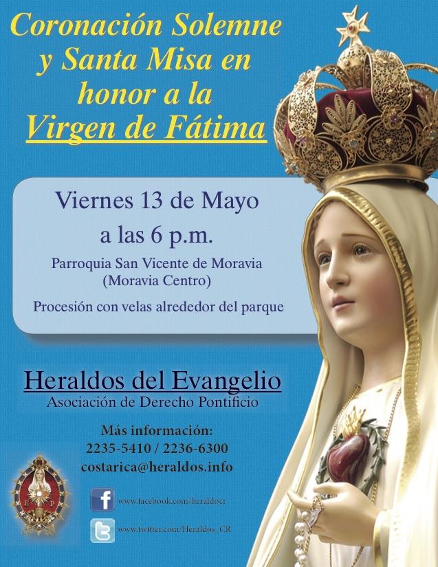Invitación para este 13 de Mayo