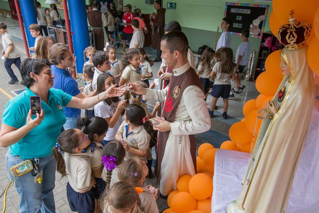 Visitas a escuelas en el mes de mayo