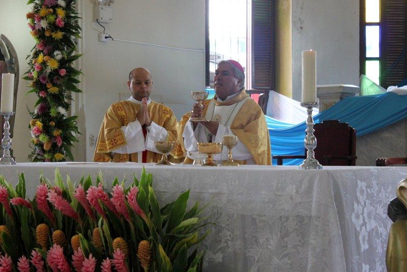 Misa en Honor a la Virgen del Carmen, Catedral de Puntarenas