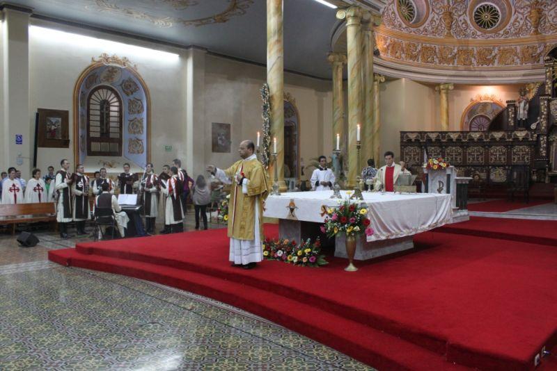 Misa de fin de Año en la Catedral de Alajuela
