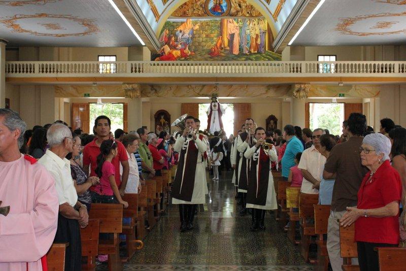 Procesión Jurada al Corazón de Jesús, Alajuela